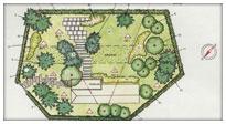 Progettazione e sistemazione giardini livorno e pisa for Planimetrie di progettazione architettonica
