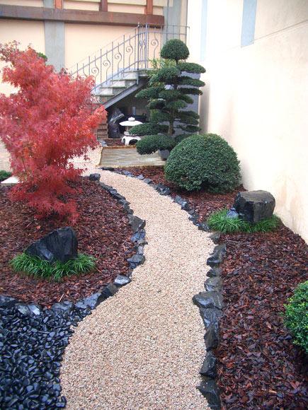 Giardino zen livorno pisa creazione progetti di - Progetto di un giardino ...